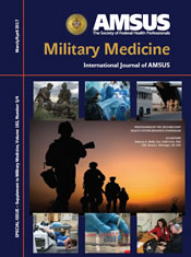 Military Medicine Journal AMSUS cover